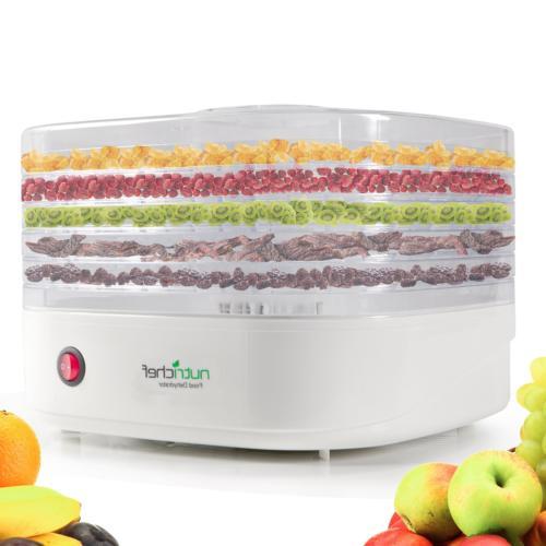 NutriChef Food Dehydrator Machine - Professional Electric Mu