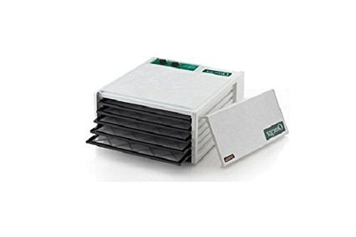 Omega DH5050TW 5-Tray Dehydrator with 26 Hour Timer