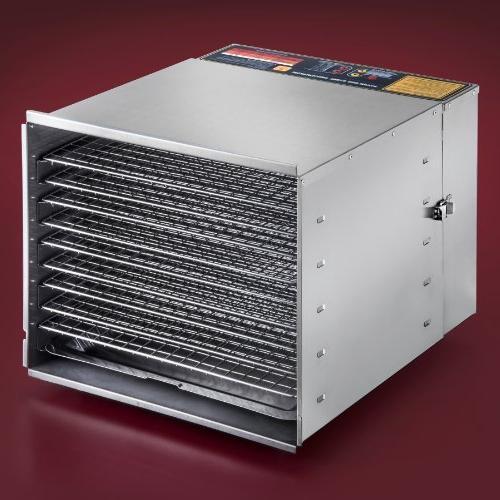 STX Dehydra Commercial Grade Steel Digital Food - 10 - 1200 Watts Fahrenheit with