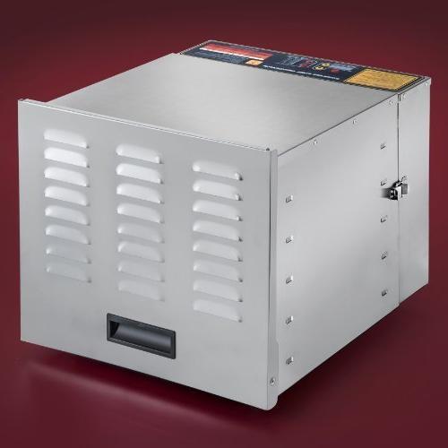 STX International STX-DEH-1200W-XLS Digital 10 Trays - Watts Fahrenheit with 15 Timer
