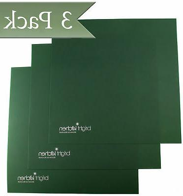 """Set of 3 - 14"""" x 14"""" Silicone Sheets for Excalibur Dehydrato"""