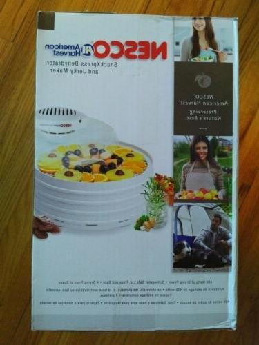 Nesco® American Harvest® Dehydrator Jerky MODEL FD37