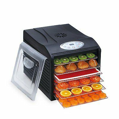 Food BioChef Sol Digital & Timer - Black