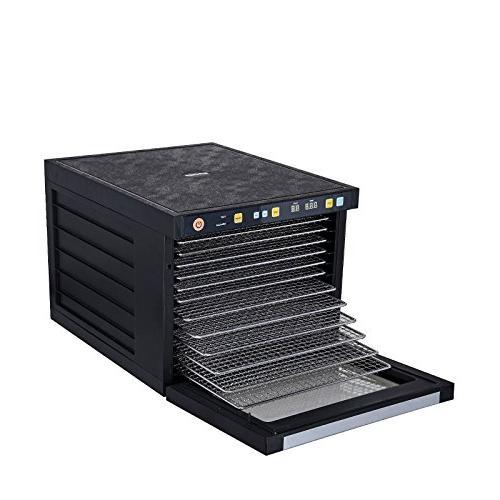 BioChef Savana Food Dehydrator Machine FREE Steel Dual-Fan System Technology, Door, , Fruit Dryer