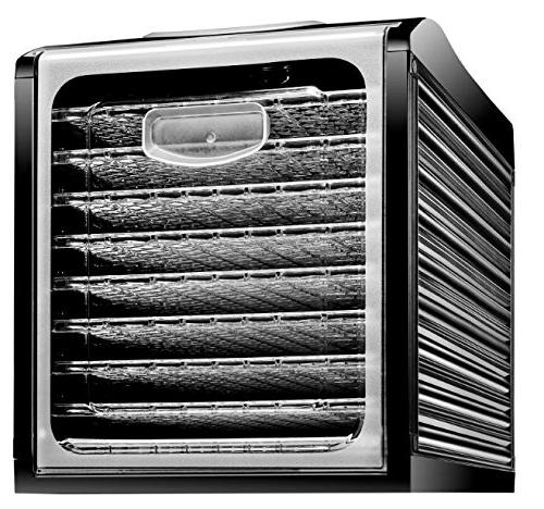 Chefman Food Dehydrator Professional Electric Preserver, Meat or Jerky Maker, Fruit & Vegetable Slide & Glass
