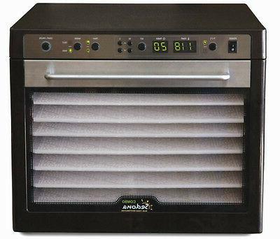 combo digital 9 tray rawfood dehydrator 220v