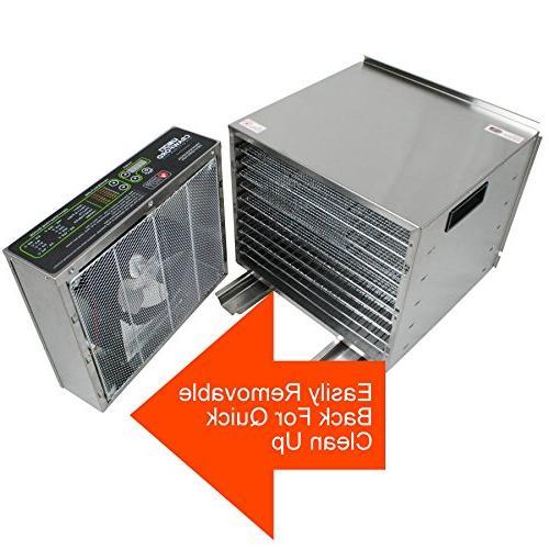 Dehydrator Easy | Pro Raw Maker | 1000W Ultra High Effieciency Design