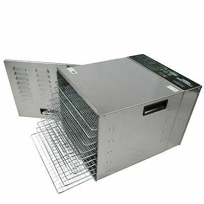 Crawford Commercial Dehydrator Easy To Clean | Pro Raw Maker | 1000W High Effieciency