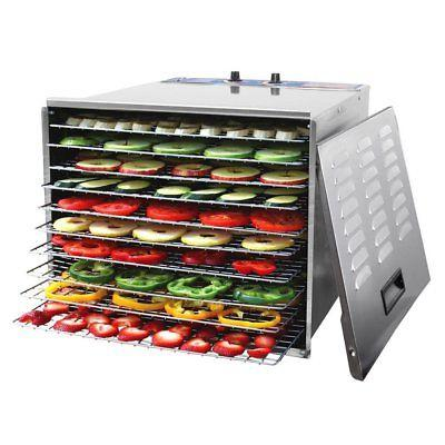 Commercial 10 Tray Food STEEL FREE SHIPPING!