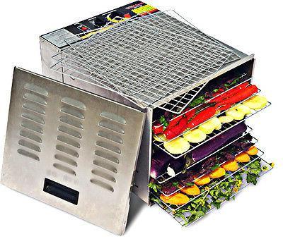 commercial grade 10 tray food dehydrator 1000w