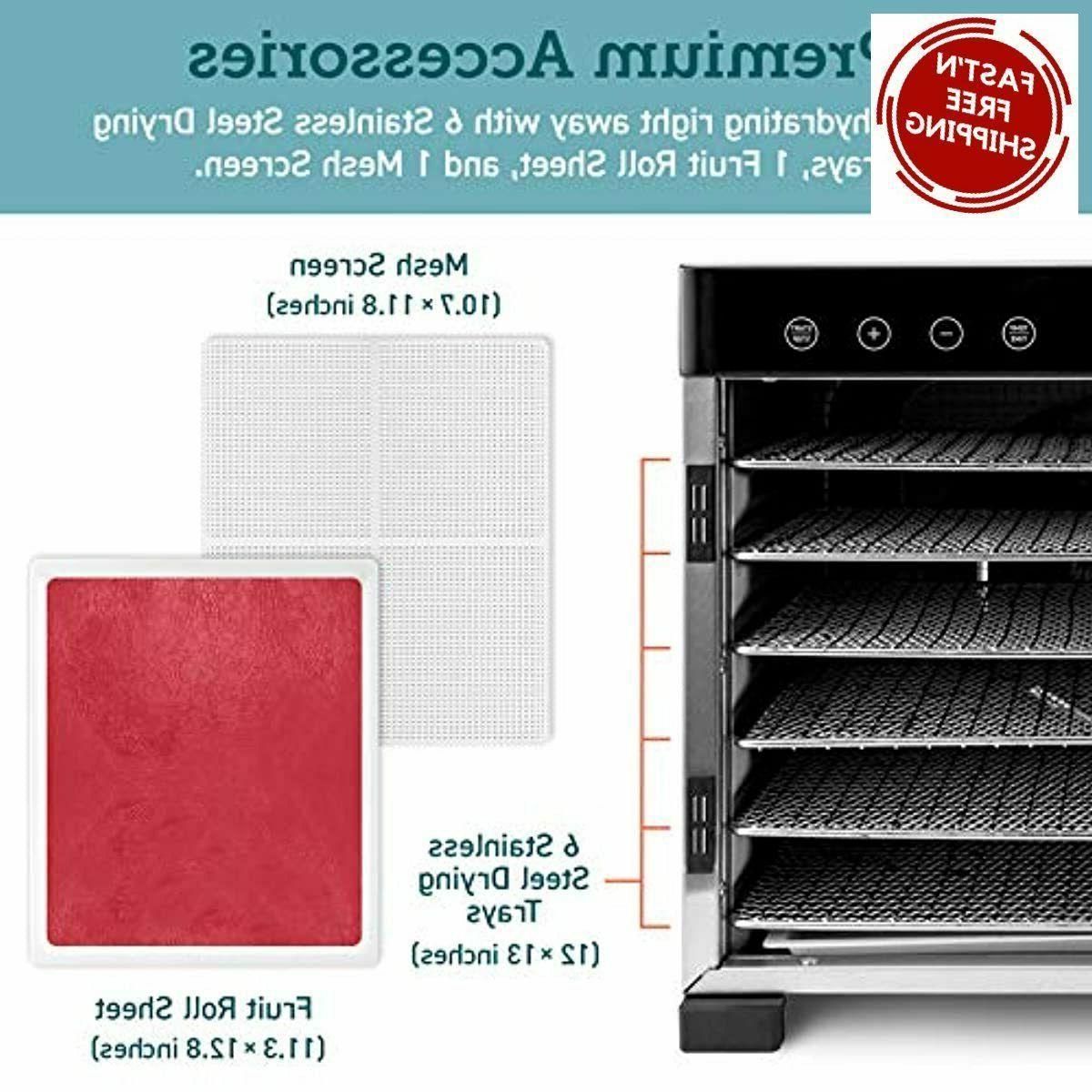 COSORI Food Machine 50 Free 6 Stainless Steel