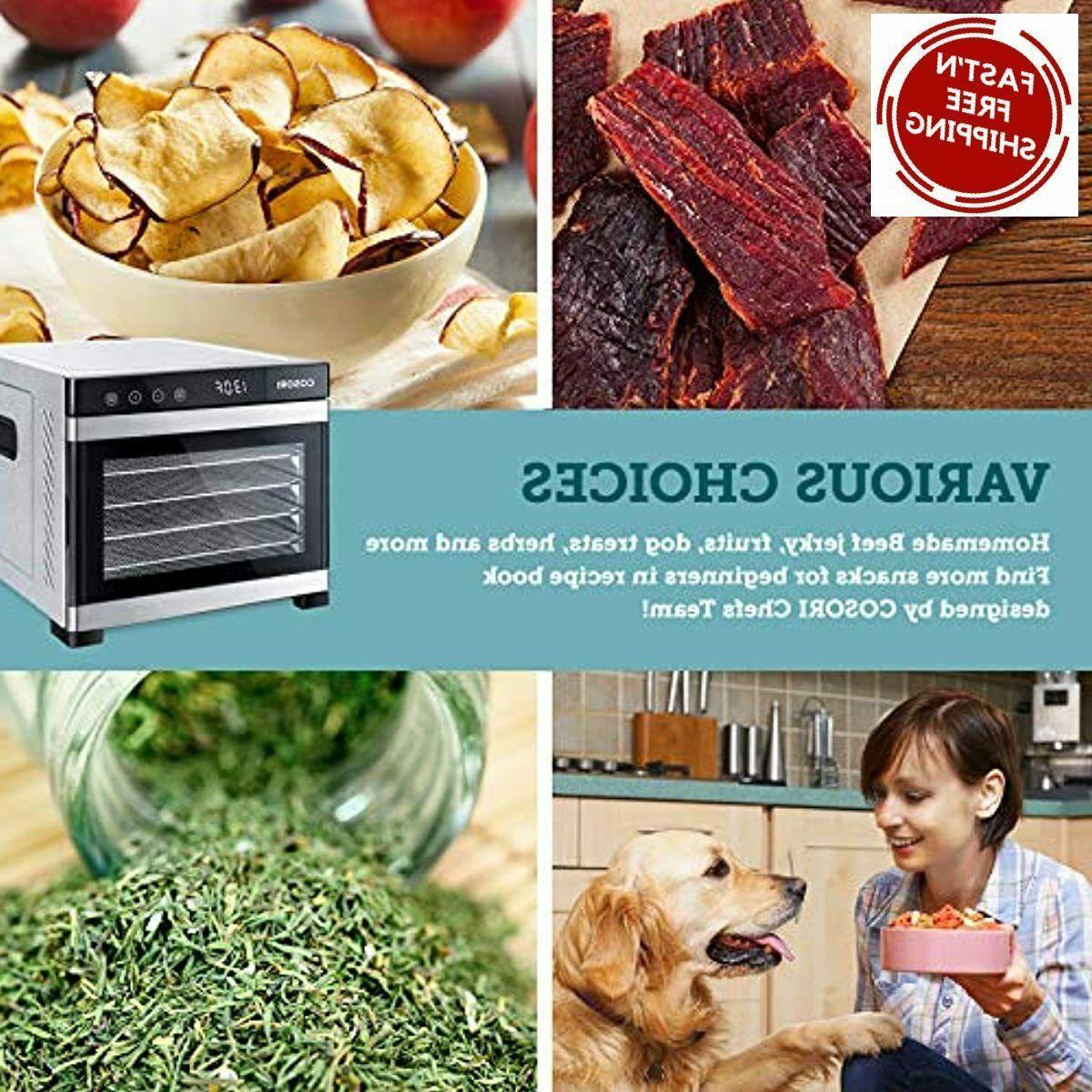 COSORI Premium Food Machine Recipes 6 Steel