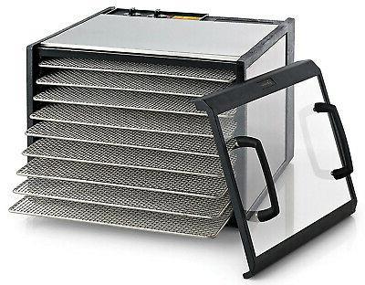 d900cdshd stainless steel clear door 9 tray