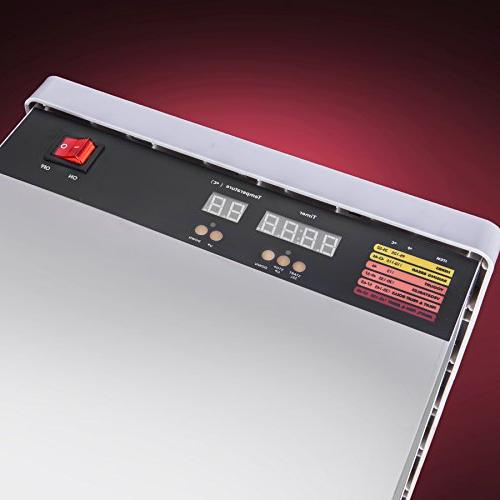 STX Steel Tray Food Jerky Dehydrator with Hour PLUS a All on with over