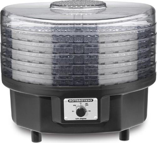Dehydrator 5 stackable trays, top system, 620