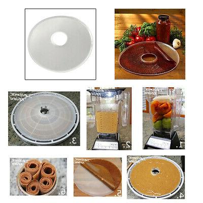 dehydrator fruit vegetable tray food dryer silicone