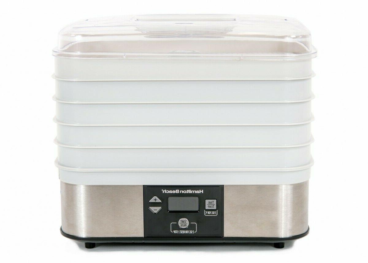 digital food dehydrator 5 tray 32100a
