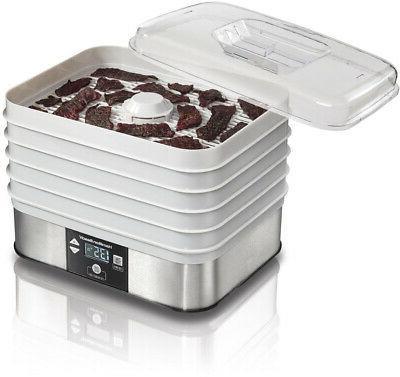 Hamilton Beach Food Dehydrator, 5 Tray, - 32100A