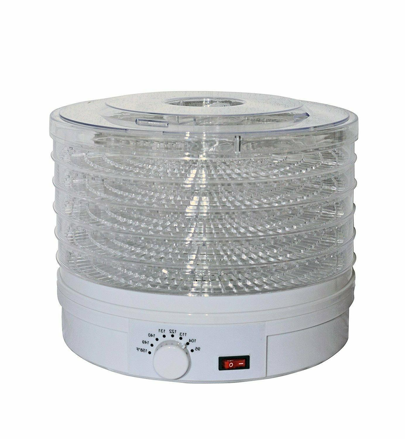 easydry adjustable food dehydrator white