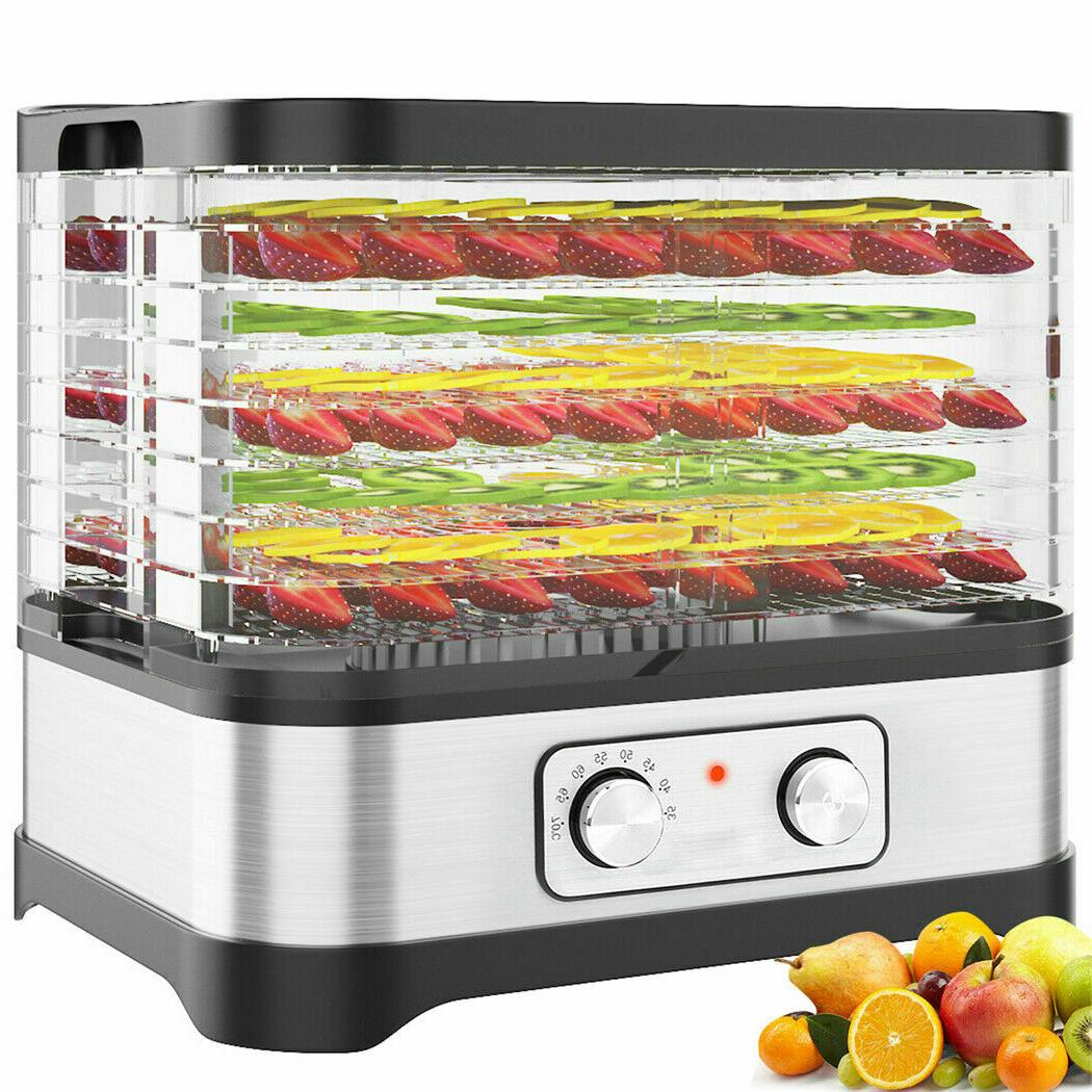 8 Food Dehydrator Dryer Beef Jerky