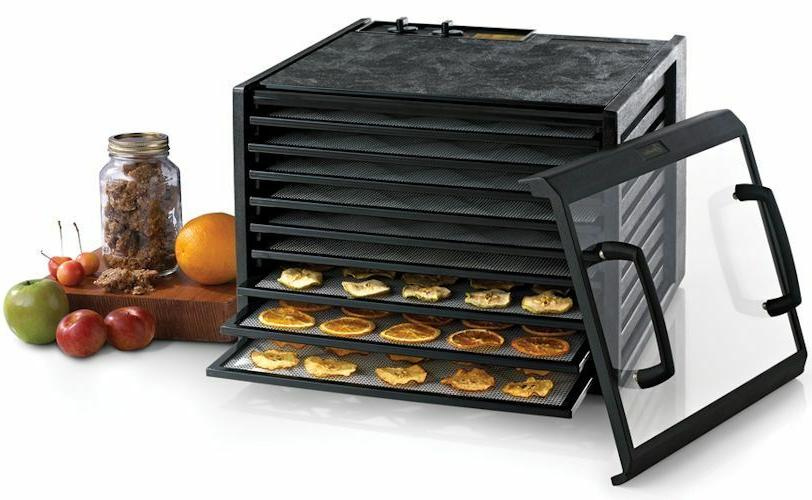 Excalibur Clear 9 Tray Food Dehydrator with MODEL