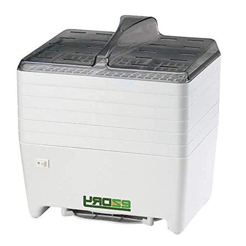 Excalibur 6-Tray Electric Dehydrator Temperature 165 Degree Free, White