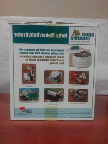 Open 7 Tray Watt Snack Jerky Maker
