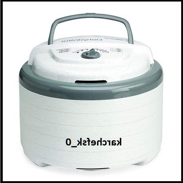 fd 75a snackmaster pro food dehydrator white