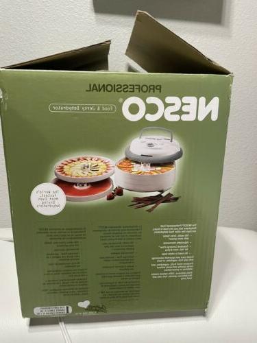 NESCO FD-75PR Snackmaster Food Dehydrator Gray Adjustable