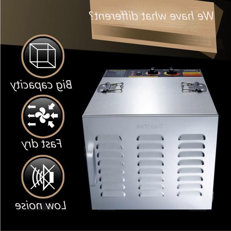 <font><b>10</b></font> <font><b>Steel</b></font> Nuts Drying Fruits and Drying Machine Dryer
