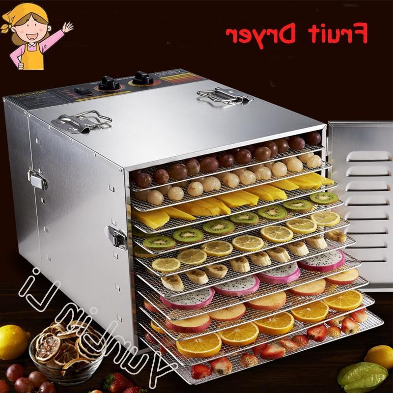 <font><b>10</b></font> <font><b>Tray</b></font> <font><b>Dehydrators</b></font> Fruits and Drying Machine Pet Dryer