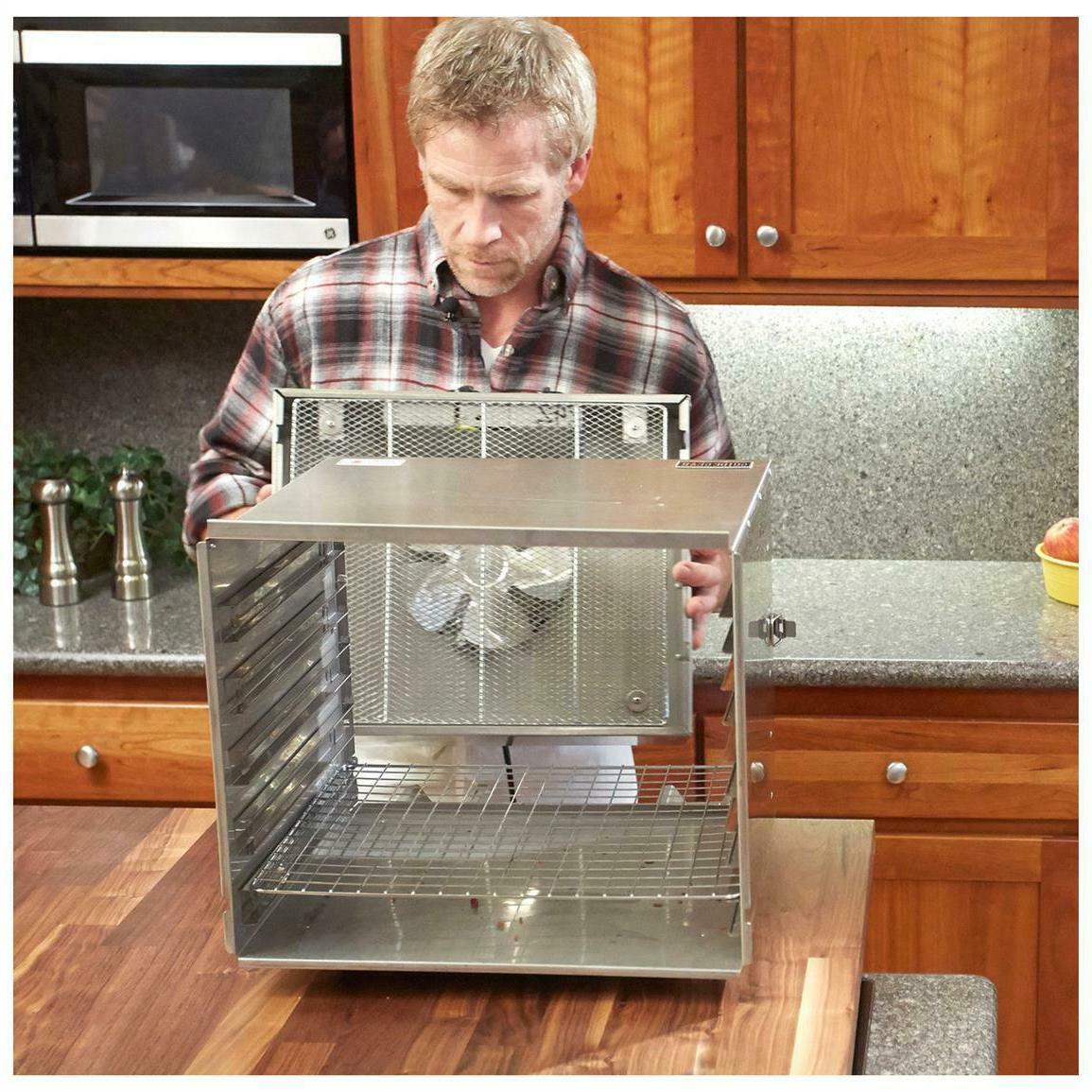 Food Dehydrator 10 Stainless Steel Jerky Meat