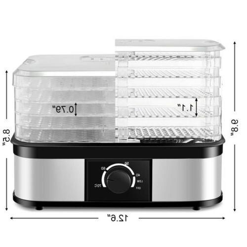 Food Food Preserver Dryer Temperature Control