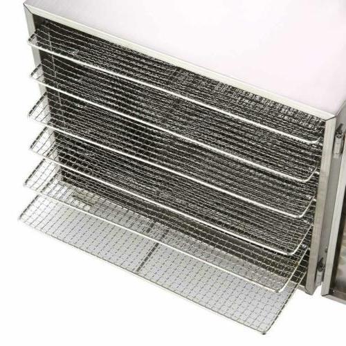 Food Dehydrator 5/6Tier Stainless Steel Fruit Dryer