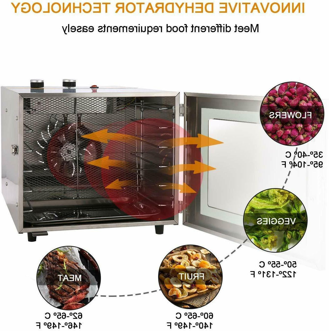 6 Machine Stainless Healthy Jerky New US