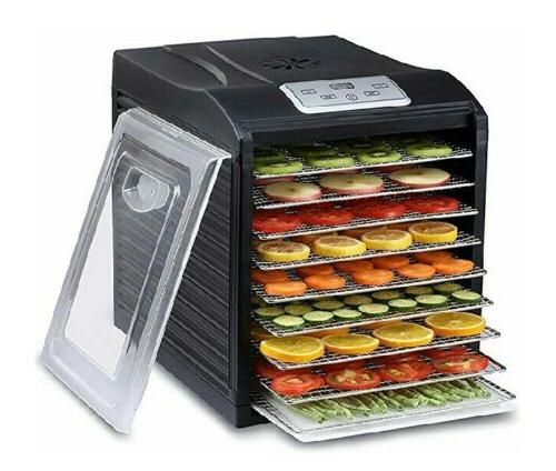 food dehydrator 9 stainless steel trays 600w