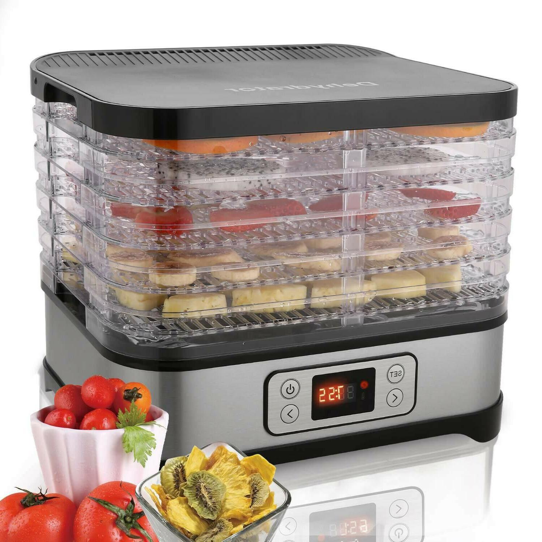 food dehydrator digital 5 tray machine dryer
