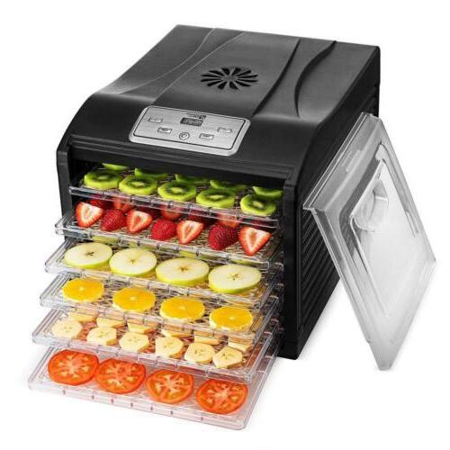 food dehydrator machine 6 drying racks multi