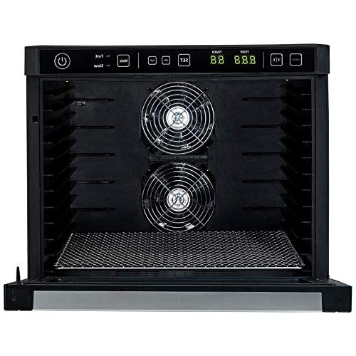 Rosewill 6-Tray Food Dehydrating for Beef Healthy Snacks Dry Electric Dehydrator with Fast Fans - RHFD-18001