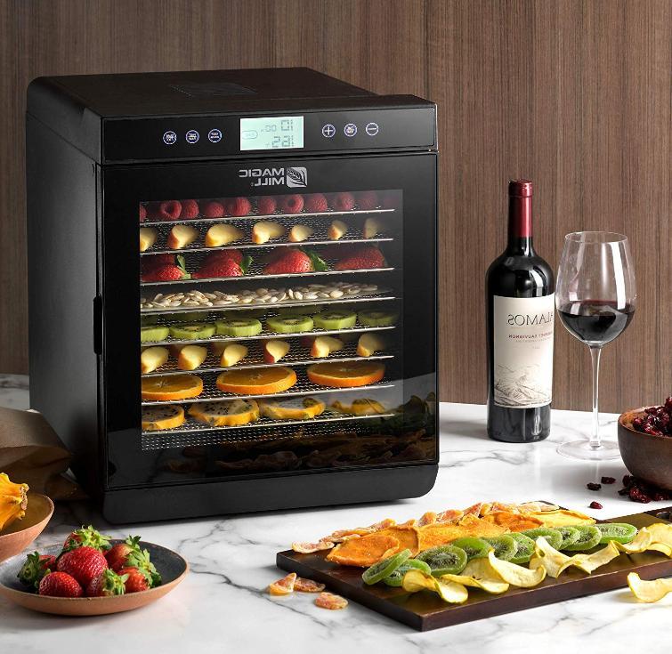 food dehydrator machine adjustable timer temperature control