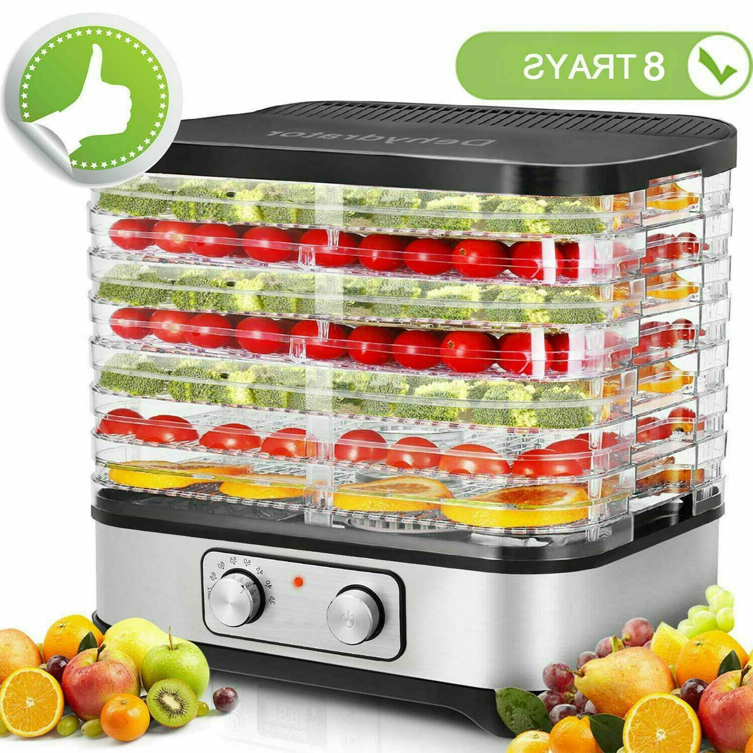 8 tier food dehydrator machine meat beef