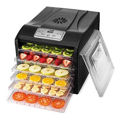 food dehydrator machine digital adjustable timer