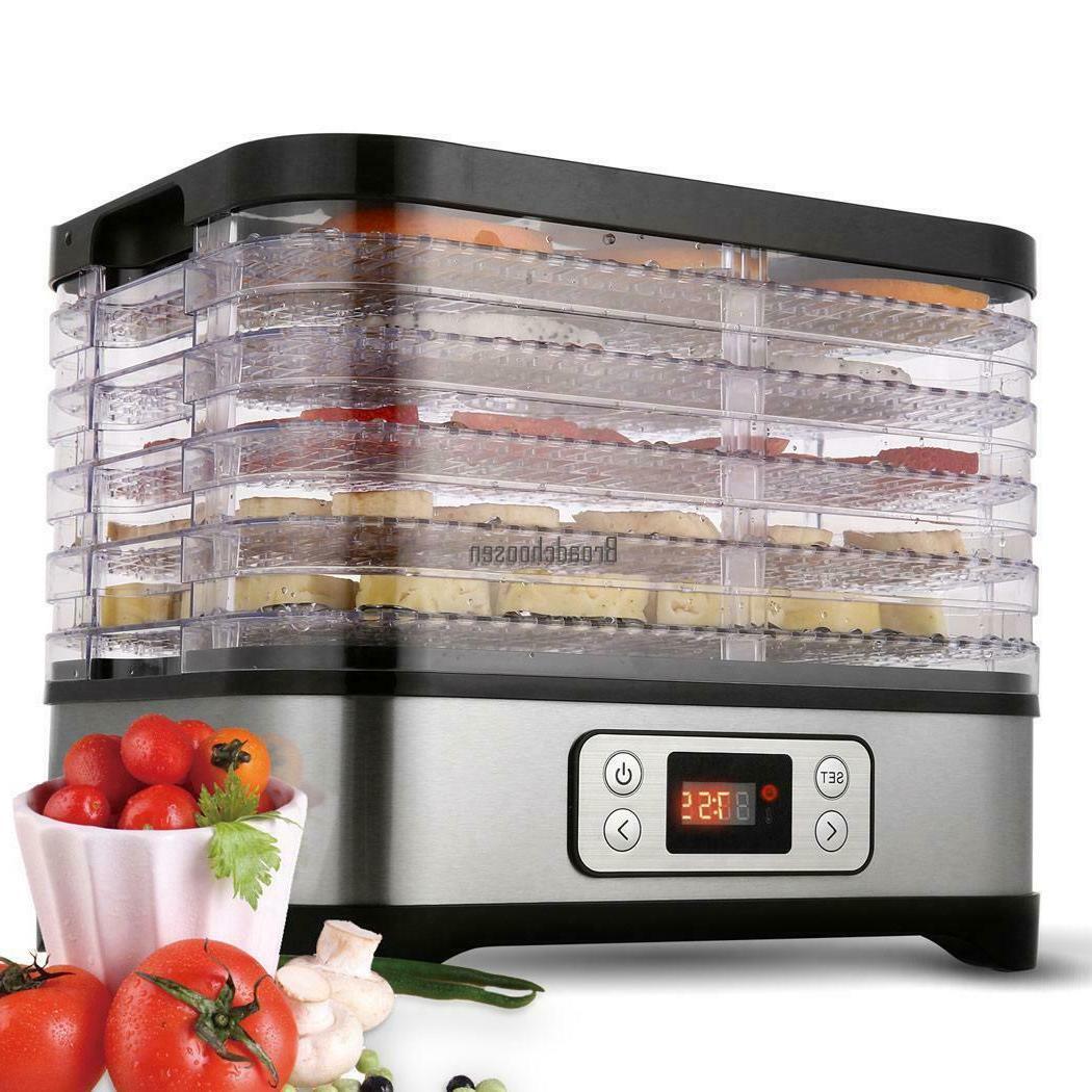 Food Dehydrator Machine 5/8 Multi-Tier Dryer