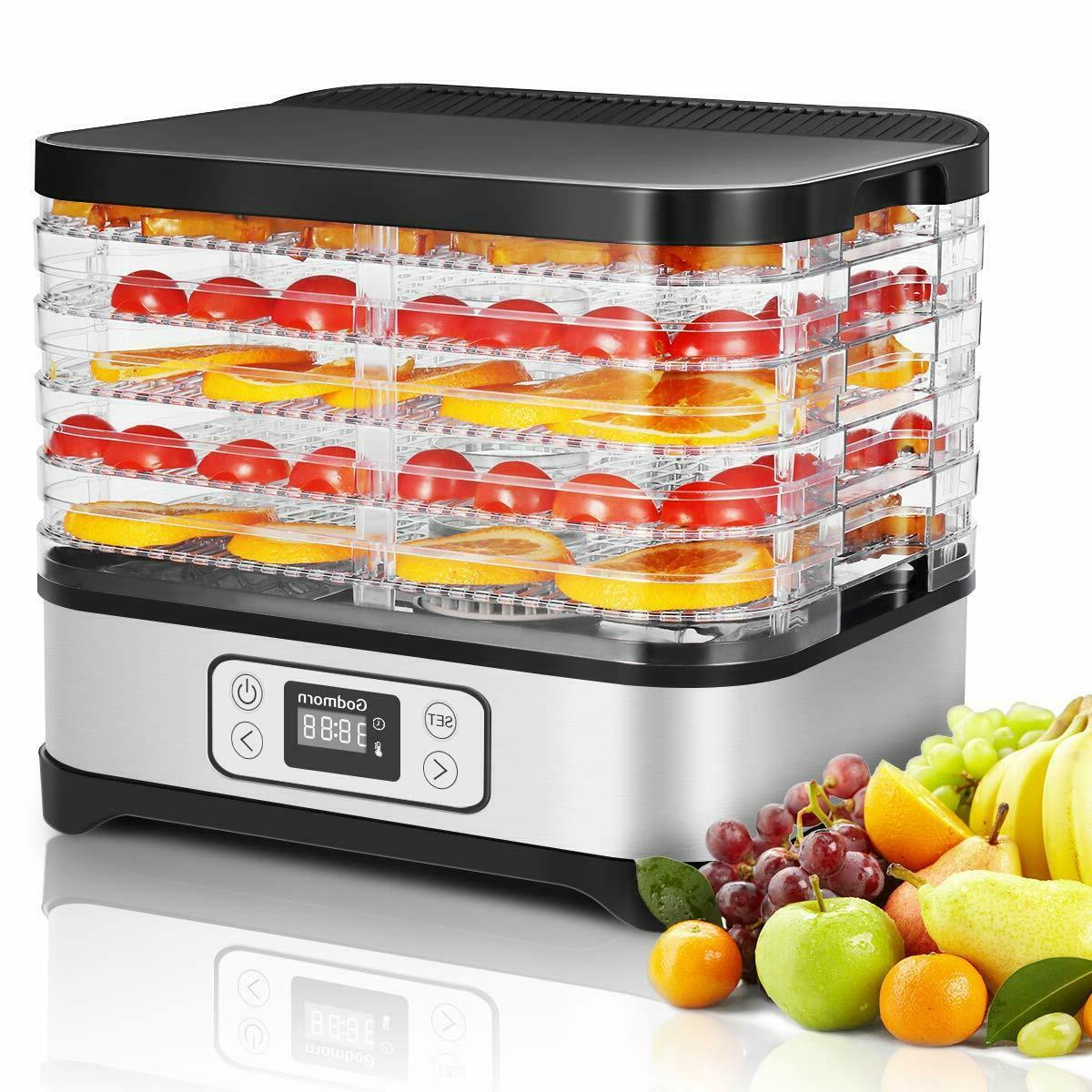 food dehydrator machine electric multi tier preserver