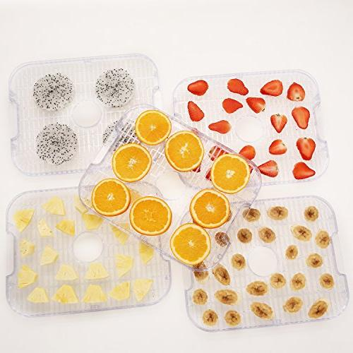 Food Dehydrator Dehydrators with 7-Tray, Button