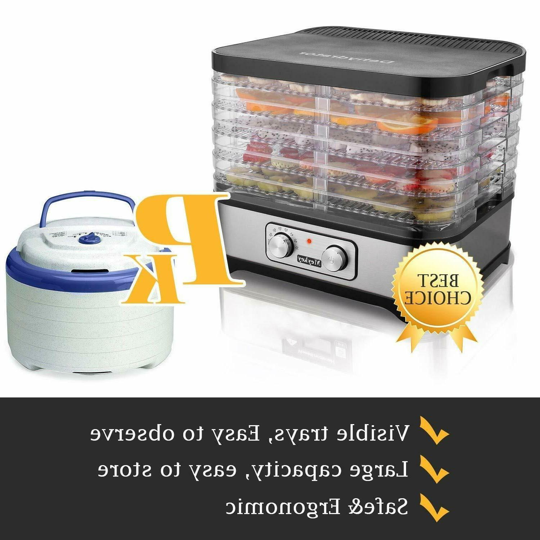 Homdox Food Jerky Knob Button/250Watt Power