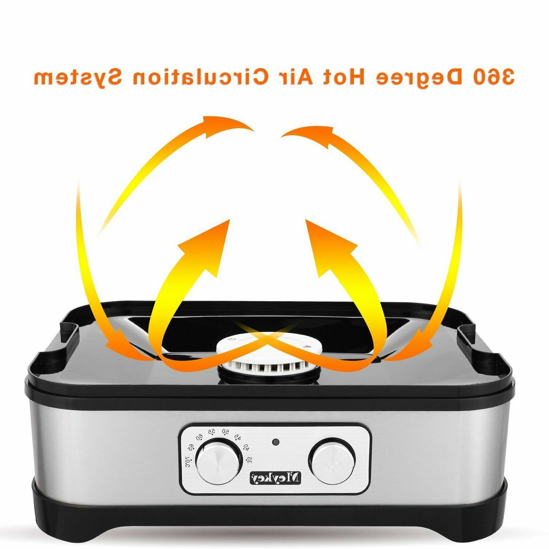 Homdox Food Dehydrator Machine Jerky with Knob Power