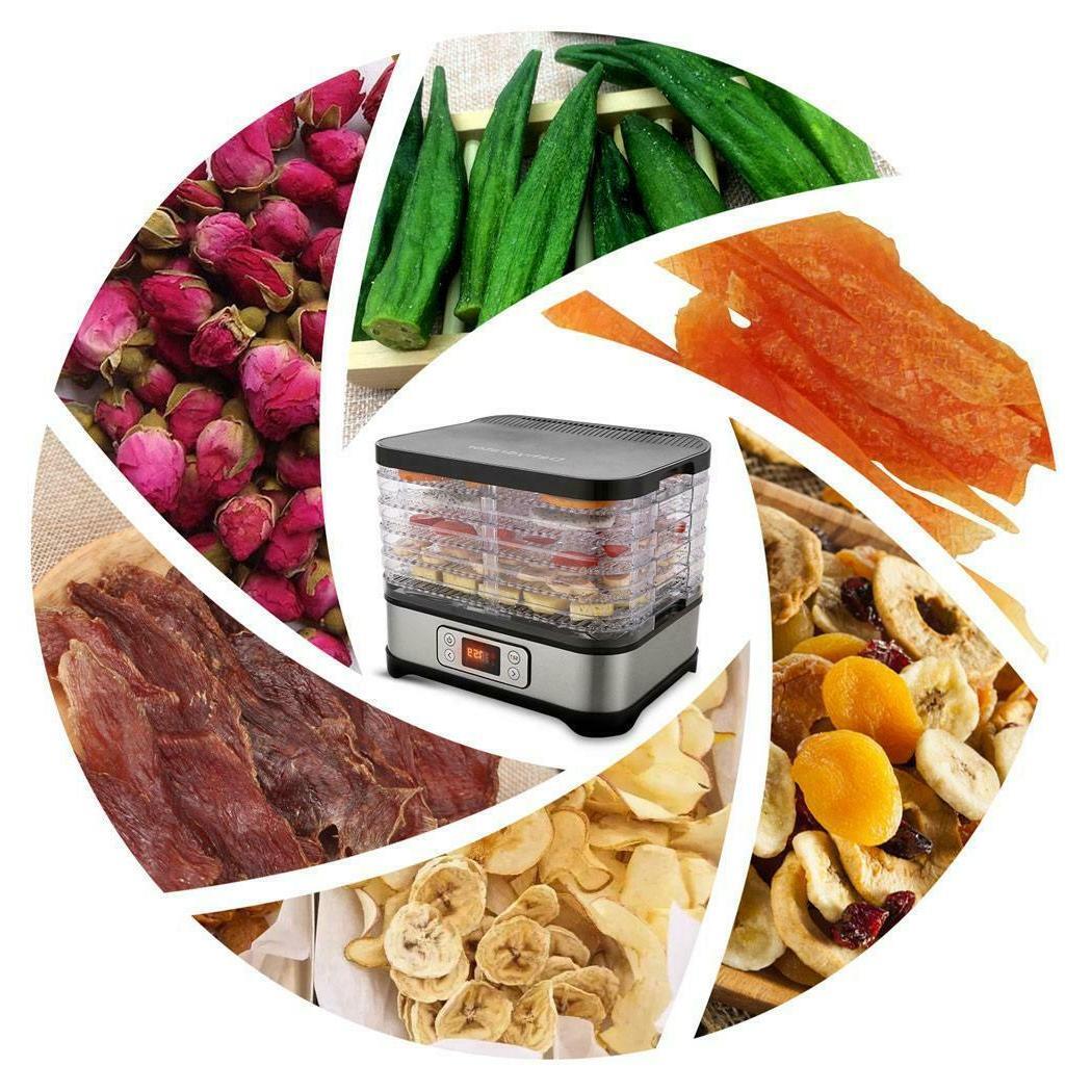 Tooluck Trays 250W Food Dehydrator Electric Food Preserve