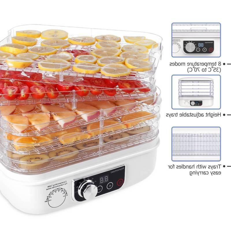 Food Electric Multi-Tier Fruit Jerky Preserver