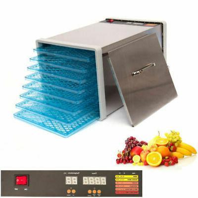 stainless steel food fruit dehydrator
